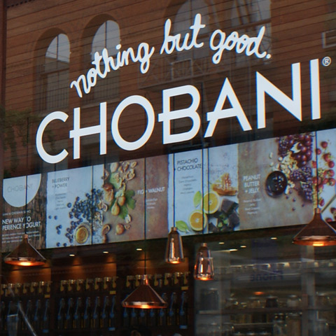 Chobani Yogurt Bar