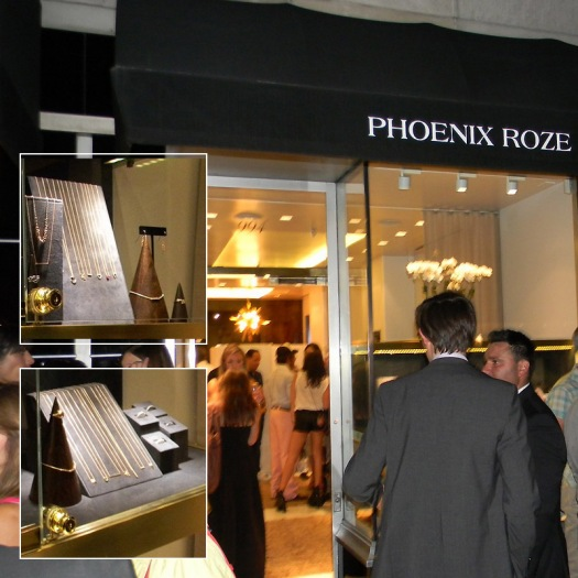 Guy Rozen hosts party for his new uptown jewelry boutique, Phoenix Roze