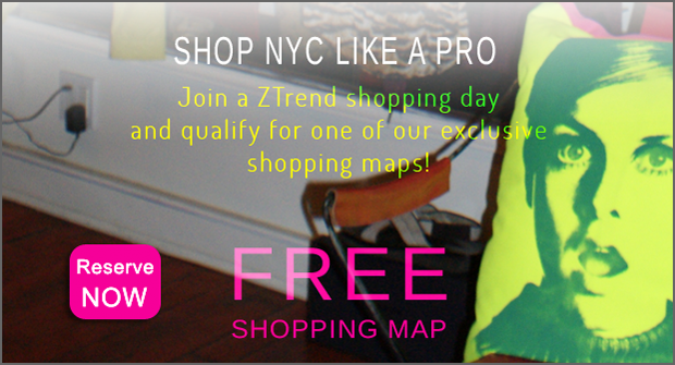 Get your free map with every shopping tour!