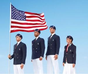 Ralph Lauren's uniforms for the 2012 US Olympics