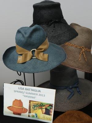 lisa bataglia spring/summer hat collection