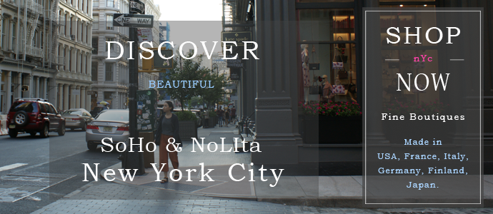Shop SoHo and NoLIta New York City