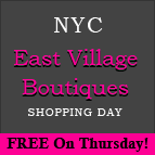 Free East Village NYC Shopping Tours